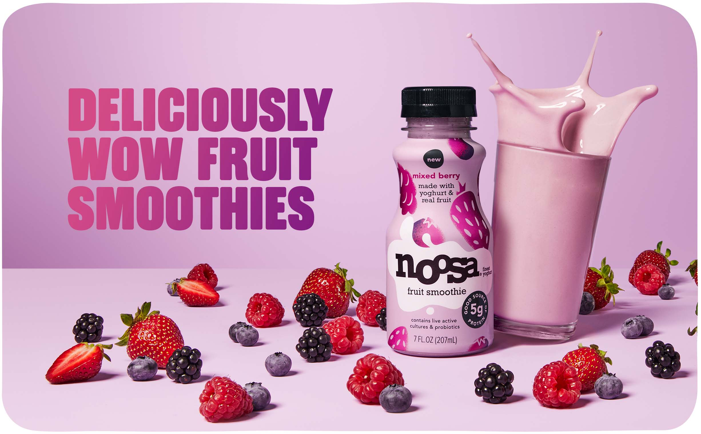 Deliciously Wow Fruit Smoothies